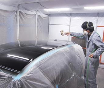 第一BODY製作所の塗装のこだわりは速さと料金!